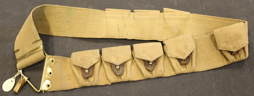Norwegian Cavalry Krag -  British made Mills bandolier.jpg